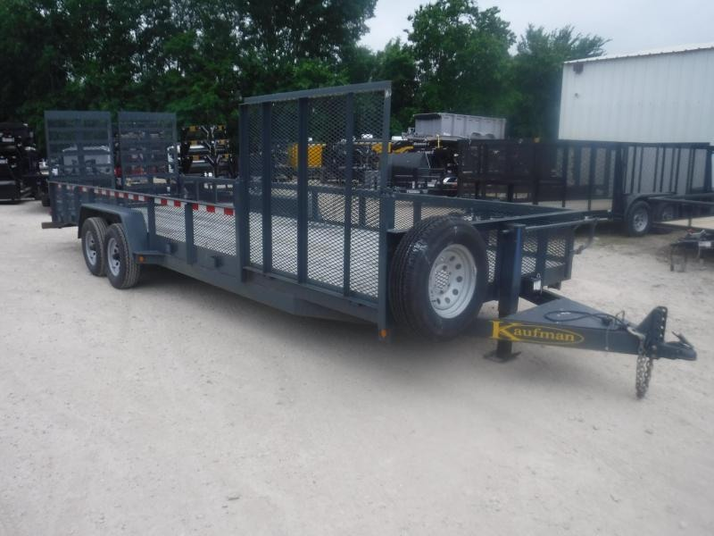 2014 Kaufman Trailers 22ft Landscape Utility Trailer