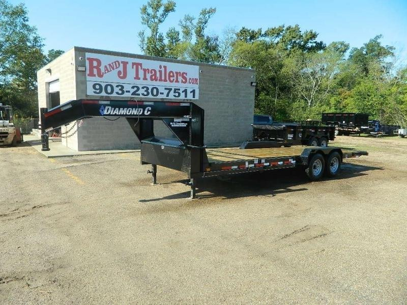 2018 Diamond C Trailers 82 x 24 45HDT Equipment Trailer in Buckner, AR