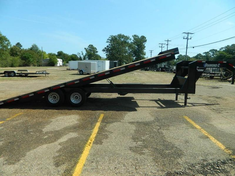 2019 Diamond C Trailers 102 x 26 13 DEC Full Tilt Equipment Trailer