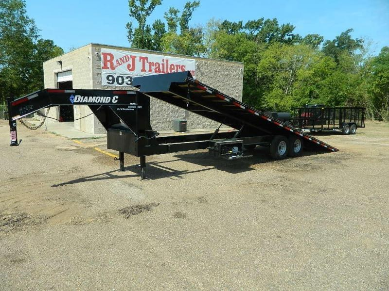 2019 Diamond C Trailers 102 x 26 13 DEC Full Tilt Equipment Trailer in Buckner, AR