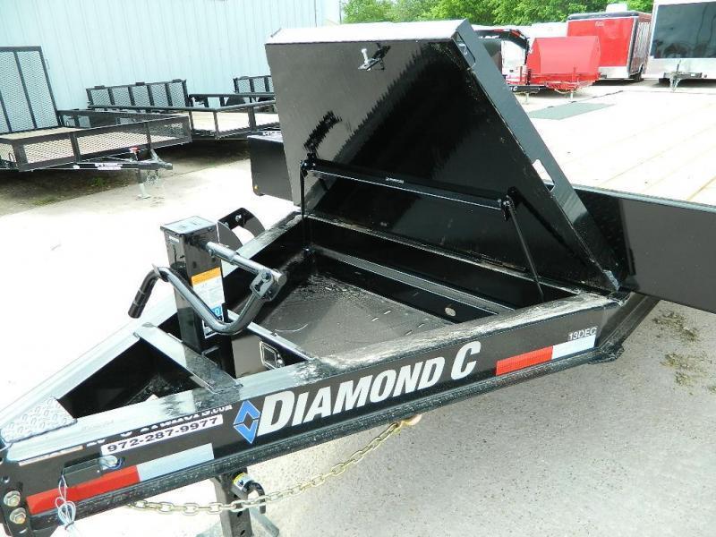 2018 Diamond C Trailers 13DEC Equipment Trailer