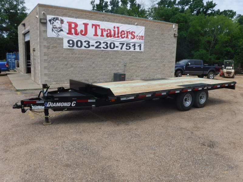 2019 Diamond C Trailers 102 x 20 DEC207 Equipment Trailer in De Queen, AR