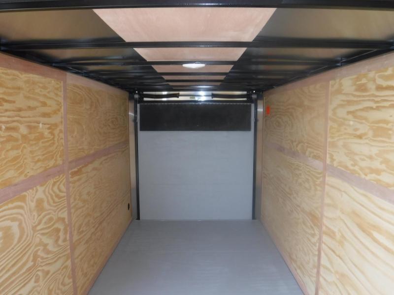 2018 Cargo Mate 7 x 16 TXLV TA Enclosed Cargo Trailer
