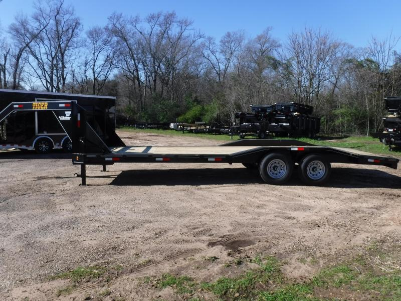 2019 Tiger 102x24 Gooseneck Equipment Trailer