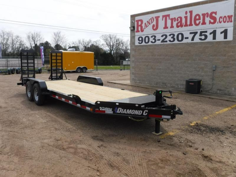 2019 Diamond C 82x20 LPX207 Equipment Trailer in Dierks, AR