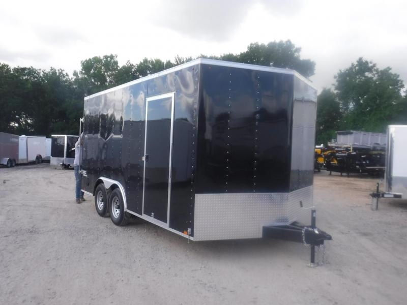 2019 Look Trailers 8.5 X 16 TA Element Enclosed Cargo Trailer