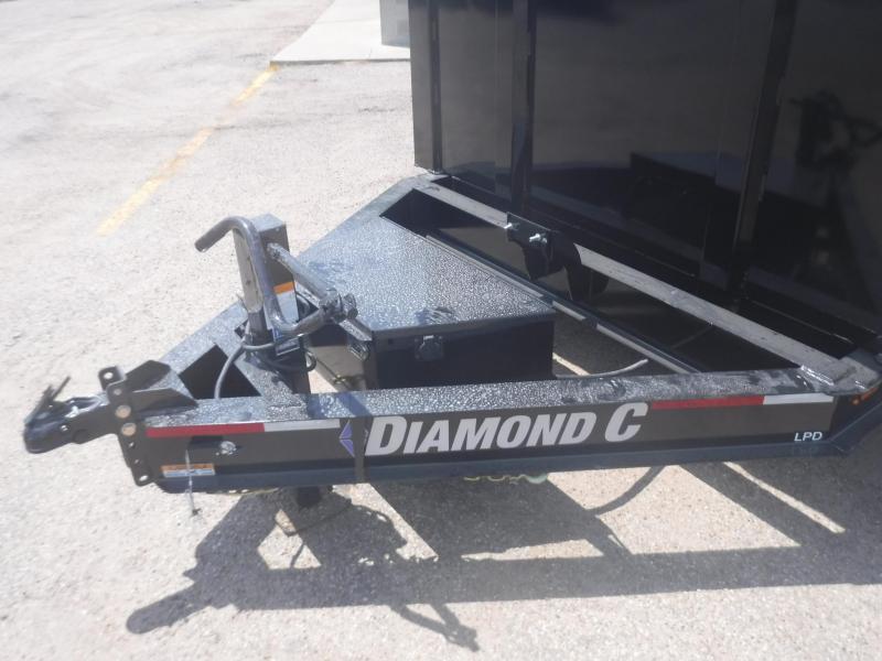 2019 Diamond C Trailers 82 x 14 LPD207 Dump Trailer