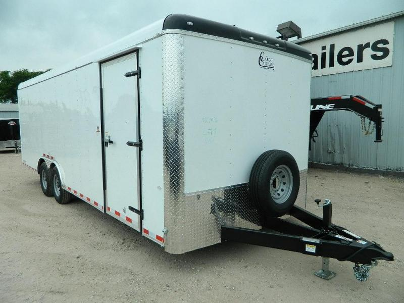 2018 Cargo Craft 8.5 x 24 Expedition Enclosed Cargo Trailer