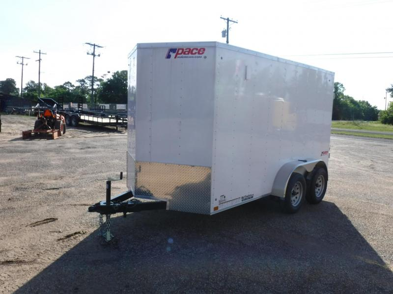 2019 Pace American 6 x 12 TA Cargo Trailer