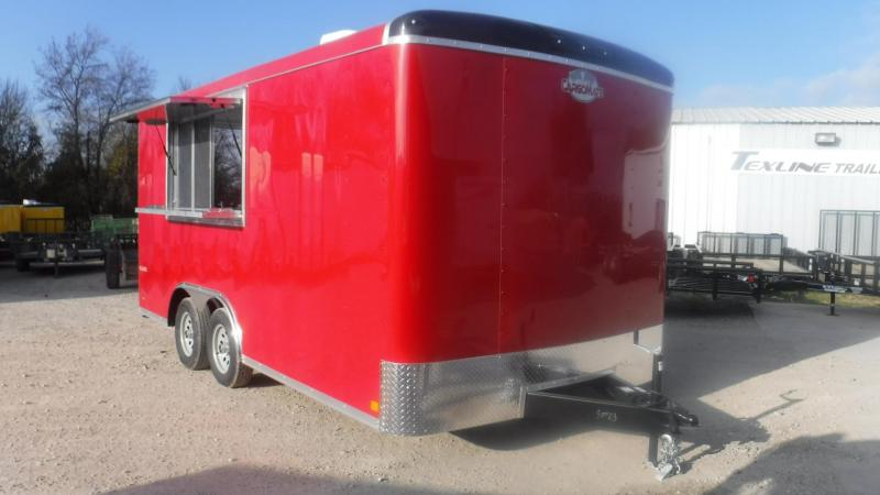 2019 Cargo Mate 8.5 x 16 Blazer Vending / Concession Trailer