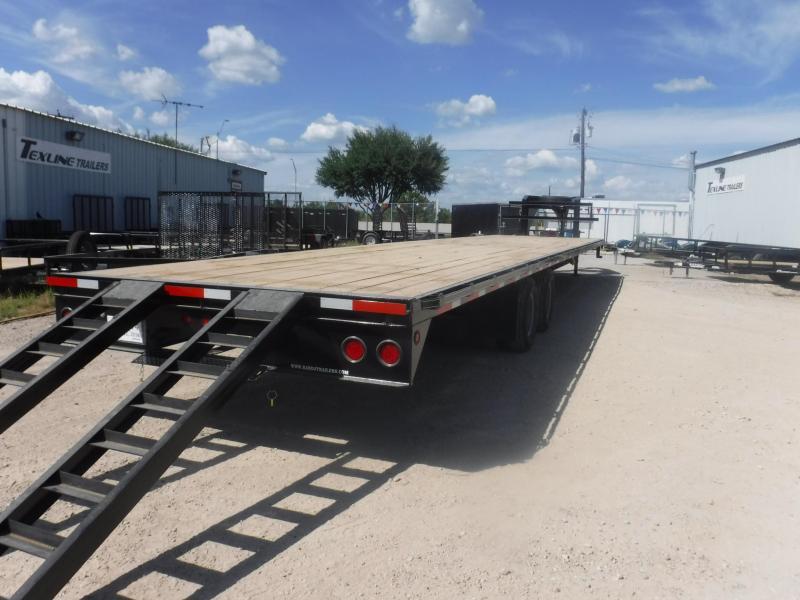 2018 TexLine 102 x 40 Square Back Flatbed Trailer