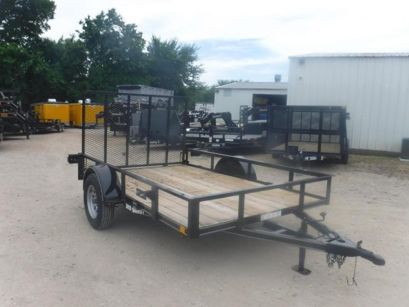 2019 Buck Dandy 77 x 10 Utility Trailer