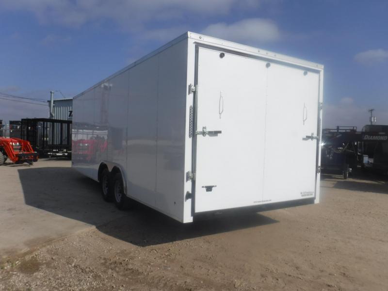 2019 R and J Trailers Inc 8.5 x 24 V-Nose Enclosed Cargo Trailer