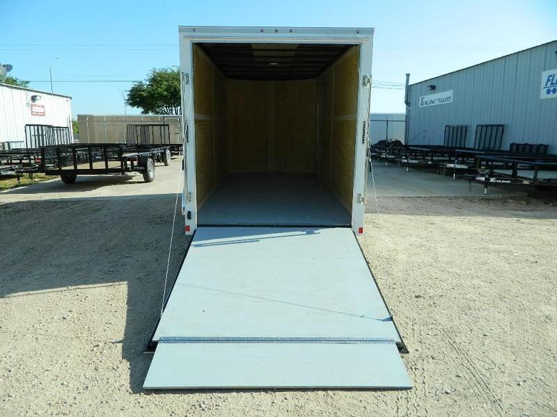 2019 Cargo Mate 7 x 16 TXLV TA Enclosed Cargo Trailer