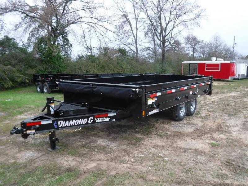 2019 Diamond C Trailers 96 x 16 DOD207 Dump Trailer in Ashburn, VA