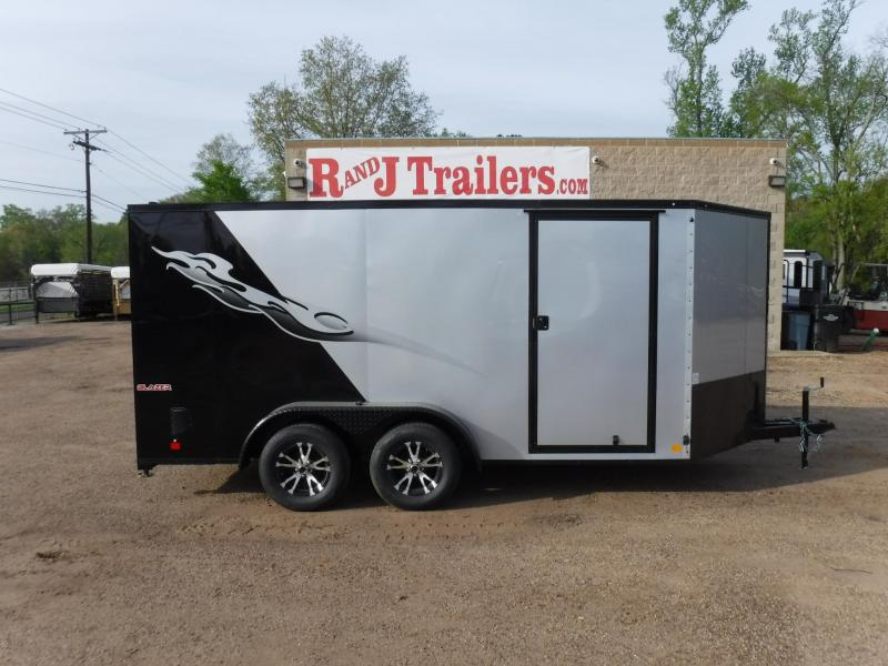 2018 Cargo Mate 7 x 14 Blazer Low Hauler Motorcycle Trailer