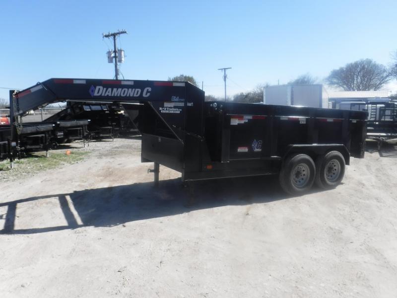 2019 Diamond C Trailers 82 x 12 21WD Dump Trailer