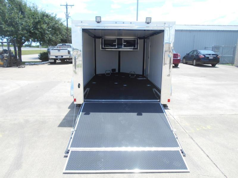 2017 Cargo Mate 7 x 12 Blazer Low Hauler Motorcycle Trailer