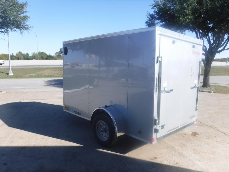2019 Cargo Mate 6 x 10 TXLV Enclosed Cargo Trailer