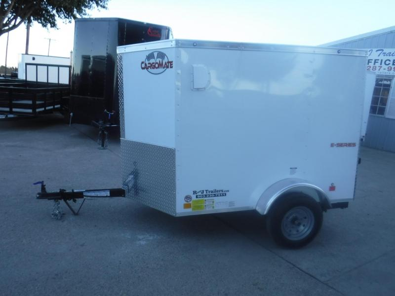 2019 Cargo Mate 4 x 6 E-series Enclosed Cargo Trailer