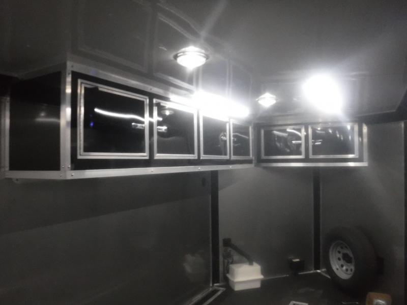 2019 Cargo Mate 7 x 18 Blazer Low Hauler Motorcycle Trailer