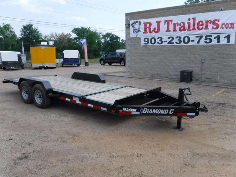 2018 Diamond C Trailers 82 x 20 HDT207 Equipment Trailer in Willisville, AR