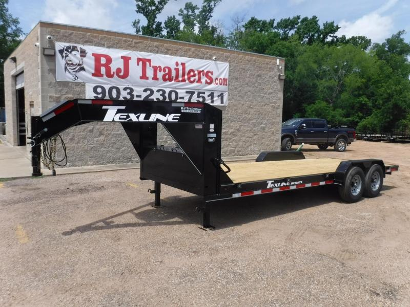 2019 TexLine 83 x 20 Bobcat Gooseneck Equipment Trailer in Buckner, AR