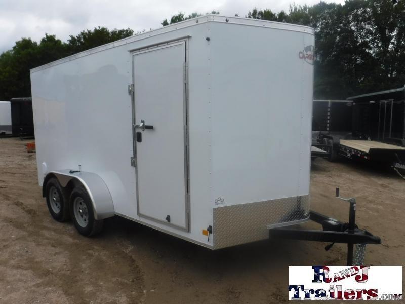2019 Cargo Mate 7 x 14 TXLE TA Enclosed Cargo Trailer