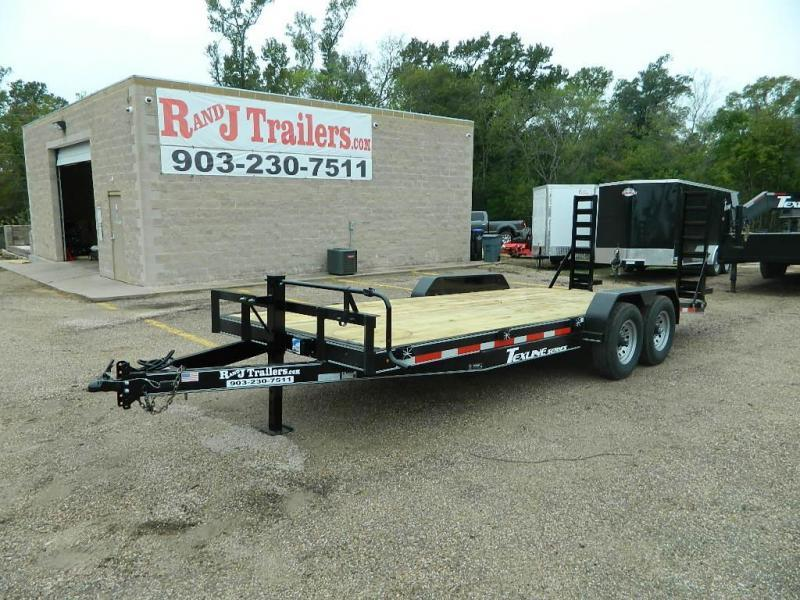 2019 TexLine 83 x 20 Bobcat Equipment Trailer in Dierks, AR