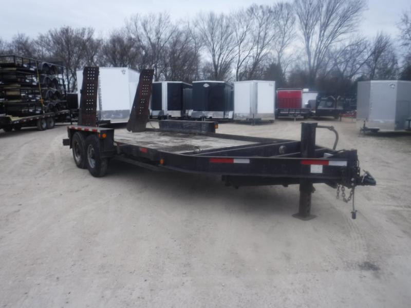 2000 Belshe 82x16 Bobcat Equipment Trailer