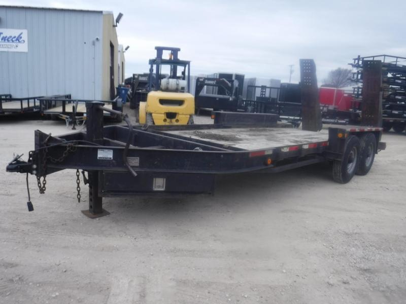 2000 Belshe 82x16 Bobcat Equipment Trailer