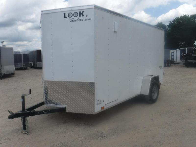 2019 Look Trailers 6 X 12 Element Enclosed Cargo Trailer