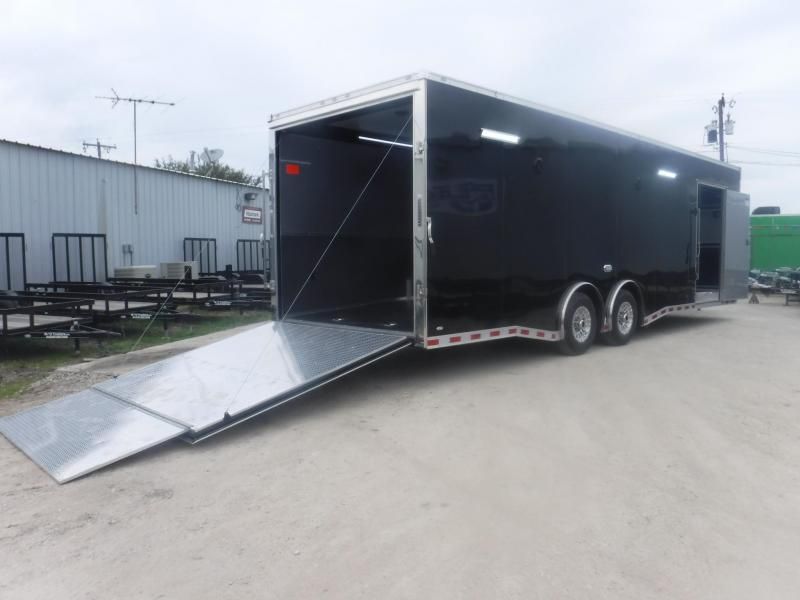 2018 Cargo Mate 8.5 x 28 NS Car / Racing Trailer
