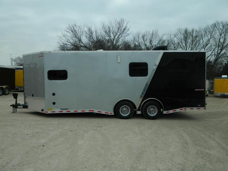 2018 Cargo Mate 8.5x22 Eliminator Toy Hauler