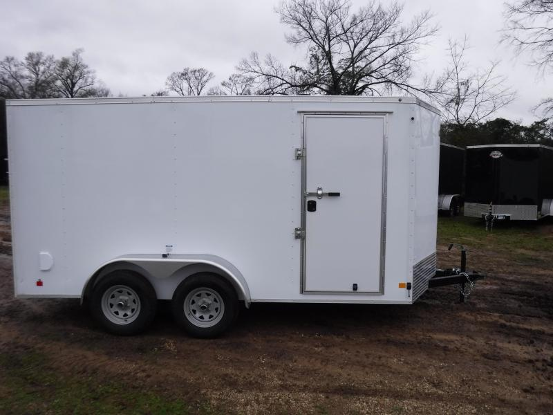 2019 Cargo Mate 7 x 14 TXLV TA Enclosed Cargo Trailer