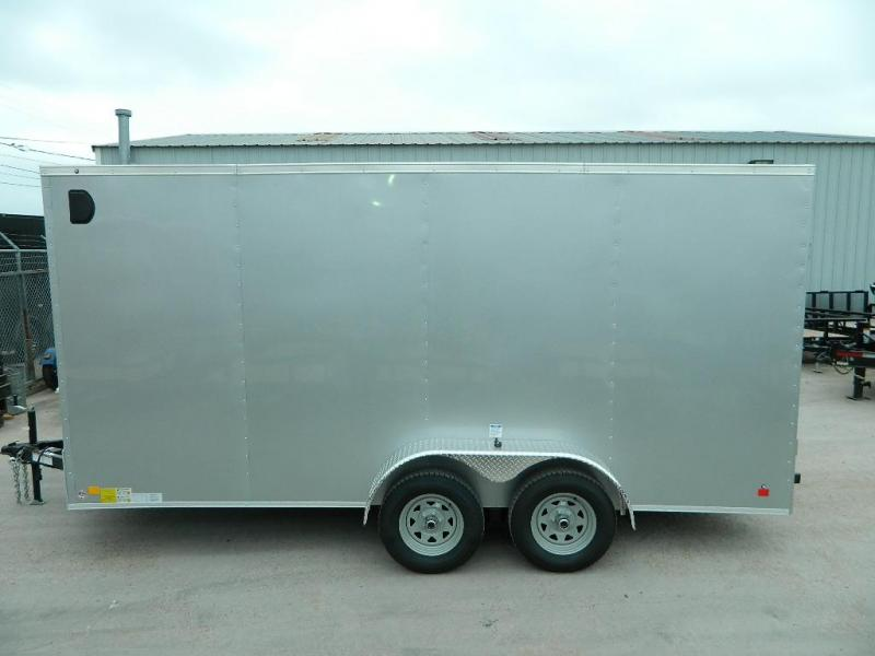 2018 Cargo Mate 7 x 16 TXLV TA Enclosed Cargo Trailer