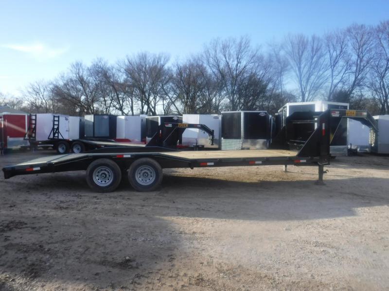 2019 Tiger 102 x 24 Gooseneck Equipment Trailer