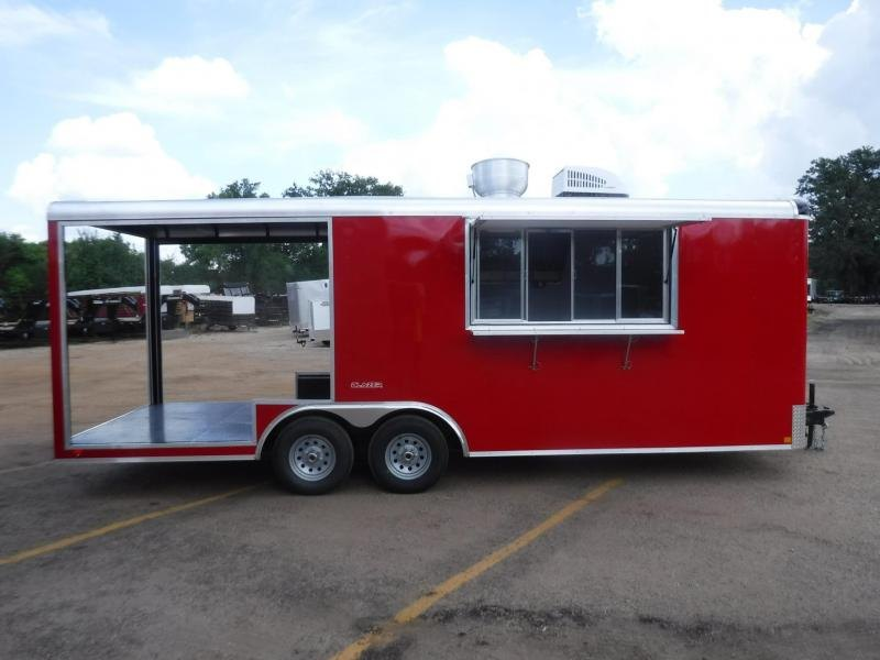 2019 Cargo Mate 8.5 x 22 Concession Vending / Concession Trailer