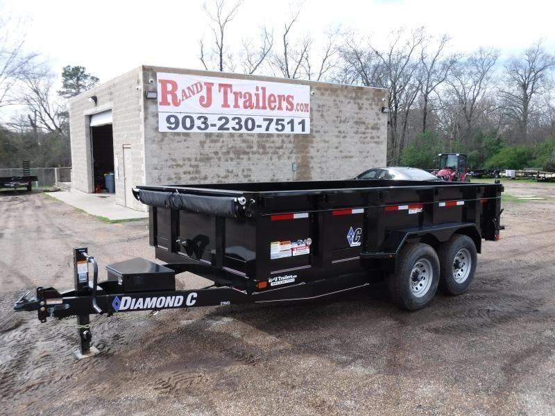 2018 Diamond C Trailers 82 x 14 21WD Dump Trailer in Ashburn, VA