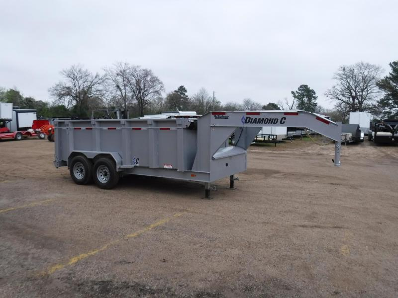 2019 Diamond C Trailers 82 x 14 LPD207 Gooseneck Dump Trailer in Ashburn, VA