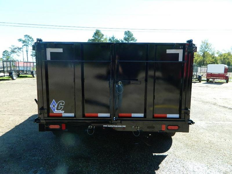 2019 Diamond C Trailers 82 x 14 21WD GN  Dump Trailer