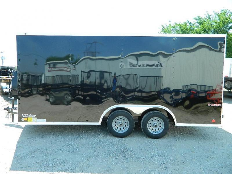 2019 Cargo Mate 8.5 x 16 TXLV TA Enclosed Cargo Trailer
