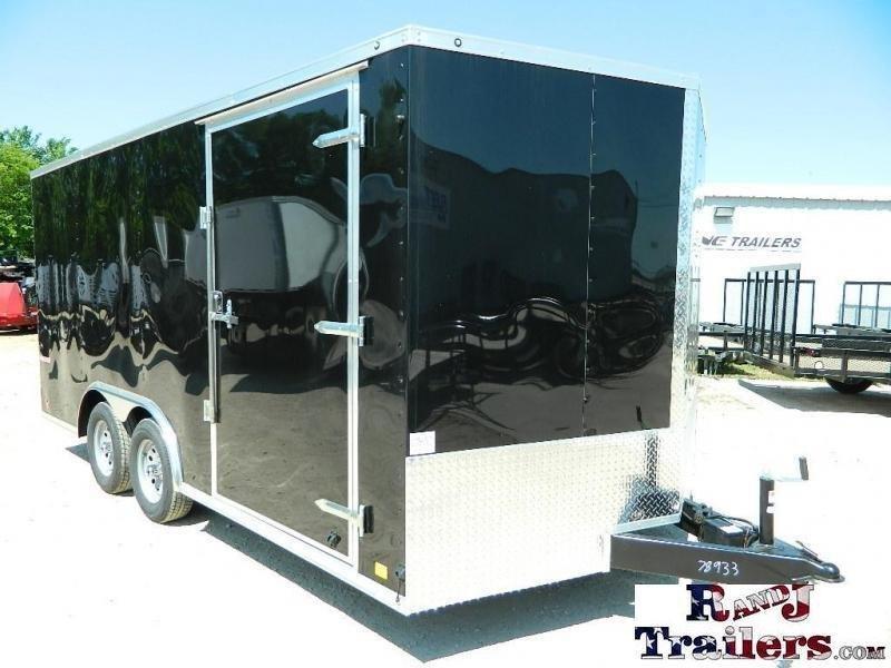 2019 Cargo Mate 8.5 x 16 TXLV TA Enclosed Cargo Trailer