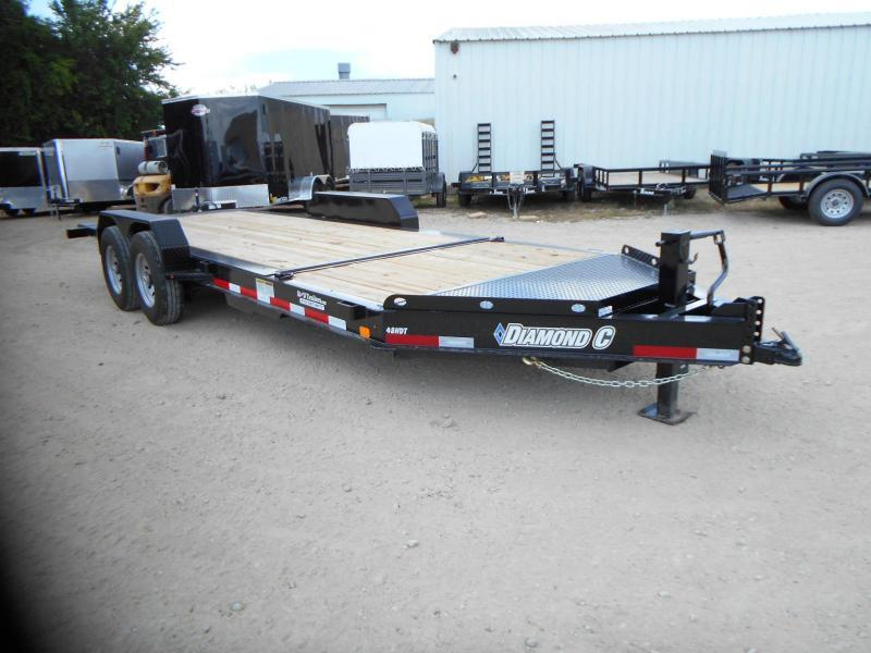 2018 Diamond C Trailers 82 x 20 48HDT Equipment Trailer