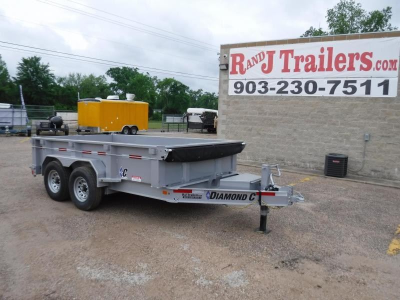 2019 Diamond C Trailers 82 x 12 21WD Dump Trailer in Ashburn, VA