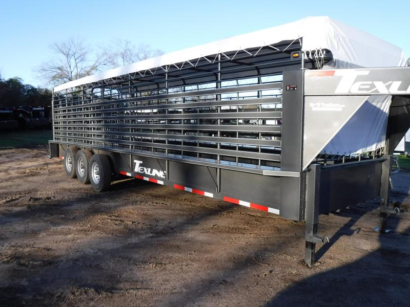 2019 TexLine 28 Cattle Utility Trailer