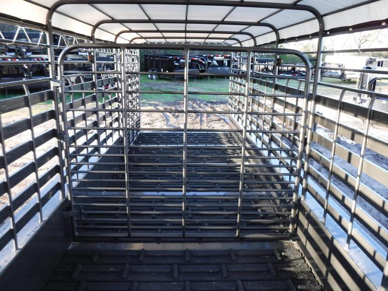 2019 TexLine 28 Cattle Utility Trailer