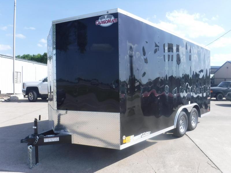 2018 Cargo Mate 8.5 x 16 E-Series TA Enclosed Cargo Trailer