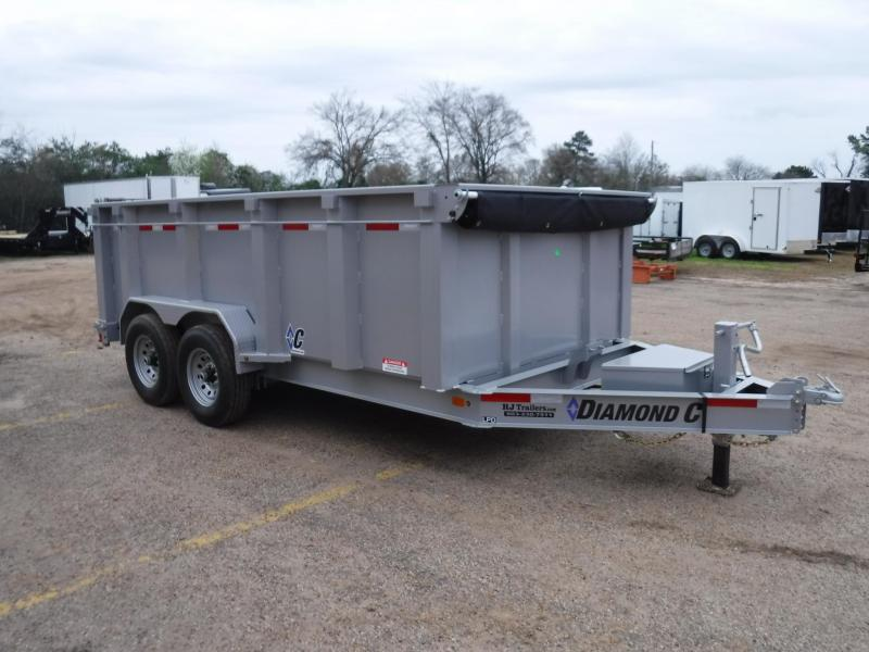 2019 Diamond C Trailers 82 x 14 LPD207 Dump Trailer in Ashburn, VA