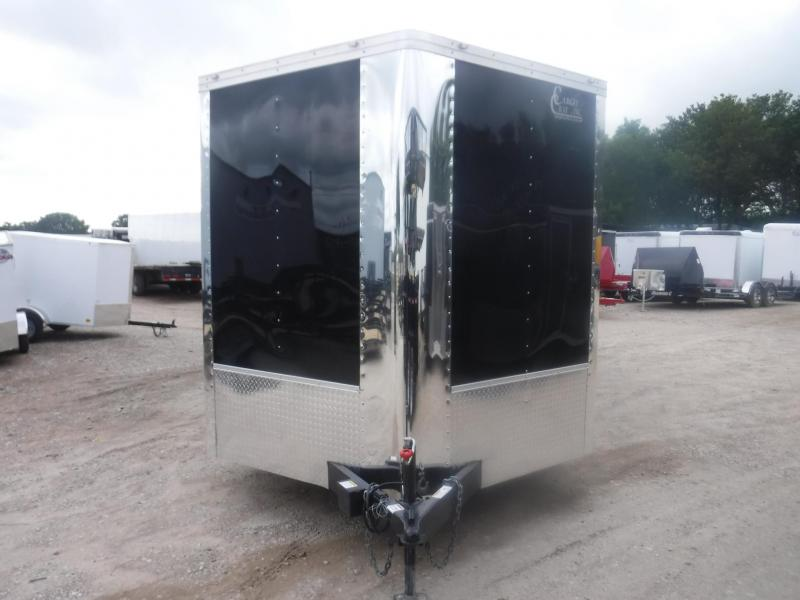 2018 Cargo Craft 8.5 x 24 V-Nose Dragster Enclosed Cargo Trailer